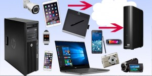 backup computer, laptop, mobile devices
